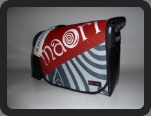 GIN messenger bag